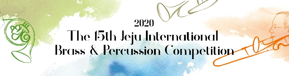 2020 The 15th Jeju International Brass & Percussion Competition Repertoire
